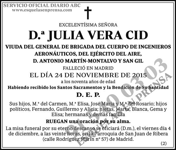 Julia Vera Cid